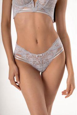 Трусики бразилиан Felecia - Jasmine Lingerie мягкий серый