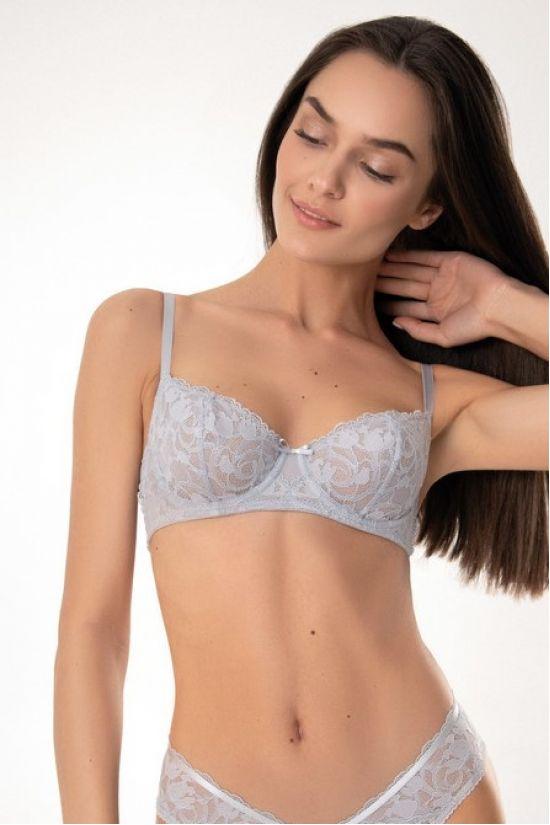 Бюстгальтер JEAN - Jasmine Lingerie, цвет: мягкий серый