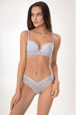 Комплект LOLA - Jasmine Lingerie мягкий серый