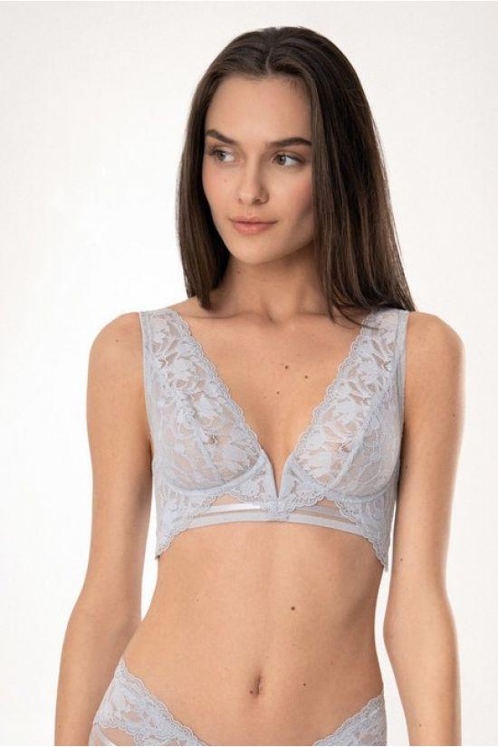 Бюстгальтер MIKI  - Jasmine Lingerie, цвет: мягкий серый