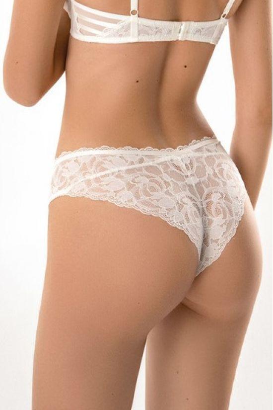 Трусики бразиліан Darlene - Jasmine Lingerie, колір: білий