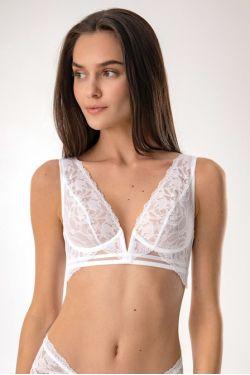 Бюстгальтер MIKI - Jasmine Lingerie, цвет: белый