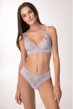 Комплект EDEL - Jasmine Lingerie сірий