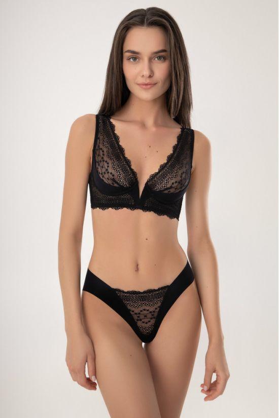 Комплект CLER  - Jasmine Lingerie, колір: чорний