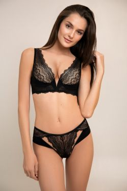 Комплект CORА - Jasmine Lingerie чорний