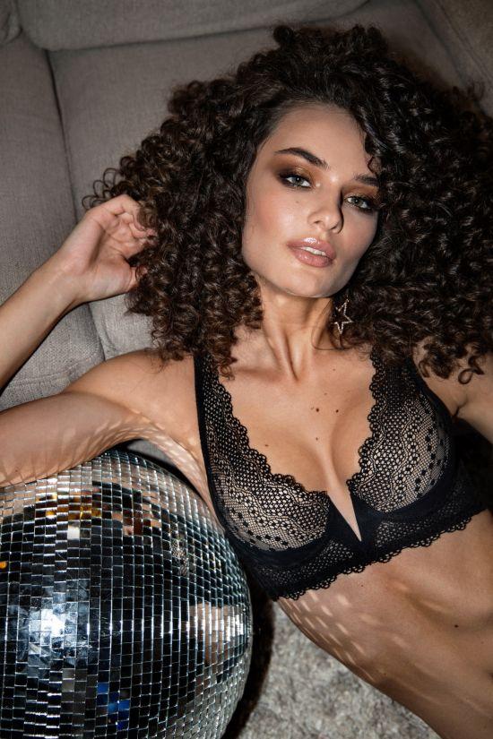 Бюстгальтер CORA - Jasmine, колір: чорний