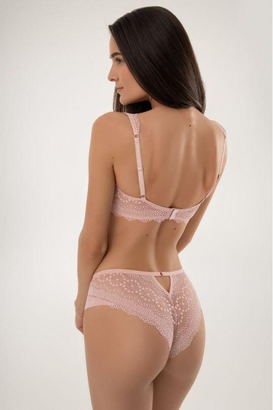 Комплект CORА - Jasmine Lingerie, колір: пудра