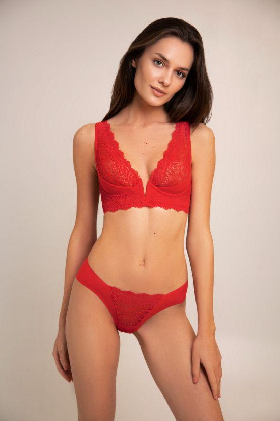Комплект CLER  - Jasmine Lingerie, колір: червоний