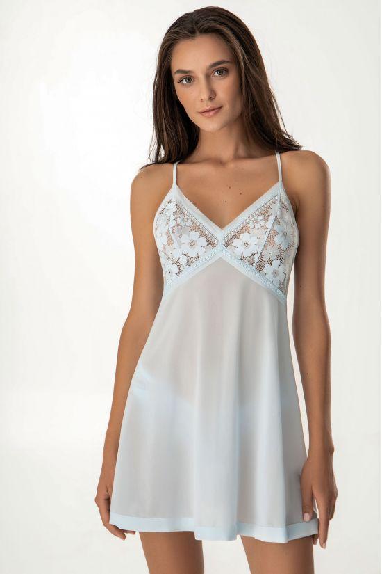 Ночная сорочка Dominika - Jasmine Lingerie, цвет: голубой