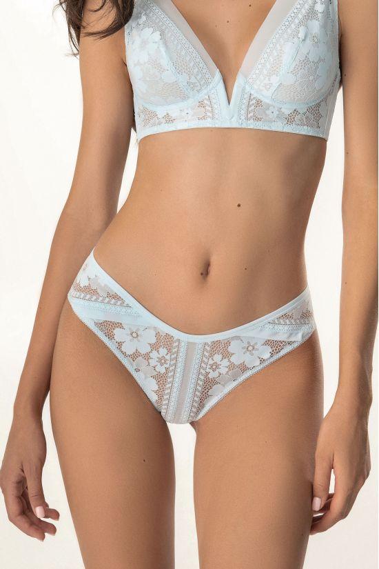 Трусики бразилиан Erlin - Jasmine Lingerie, цвет: голубой