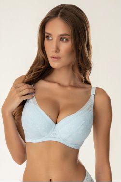 Бюстгальтер MOLY - Jasmine Lingerie, колір: блакитний