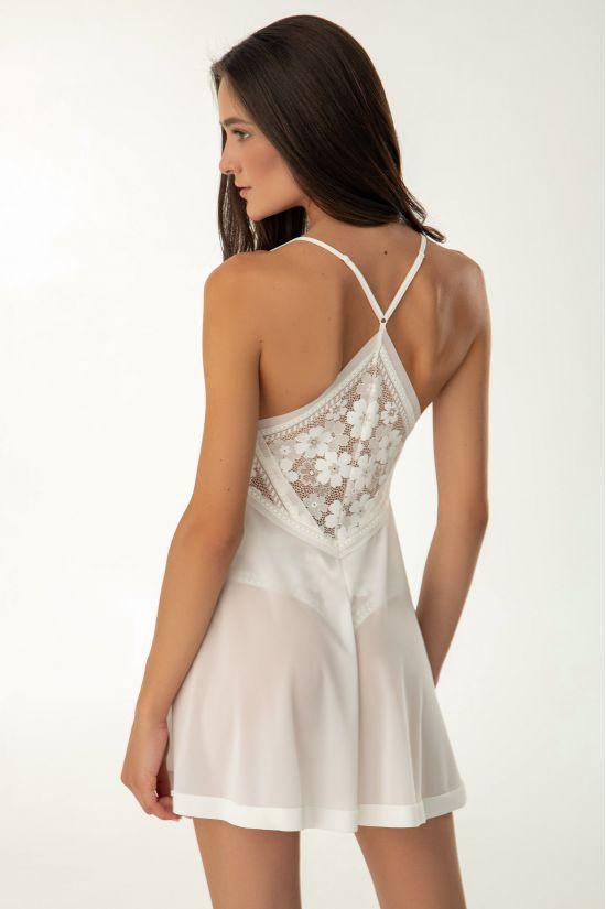 Ночная сорочка Dominika - Jasmine Lingerie, цвет: молочный