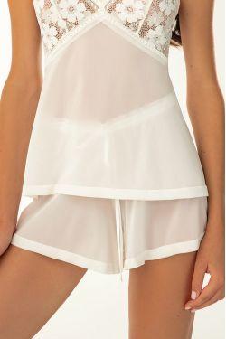 Пижамные шорты Roberta - Jasmine Lingerie молочный