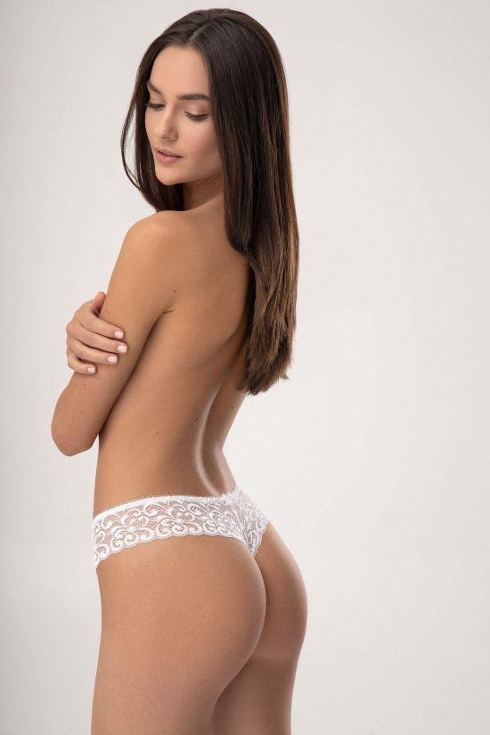Трусики стринг CARIN - Jasmine Lingerie, цвет: белый