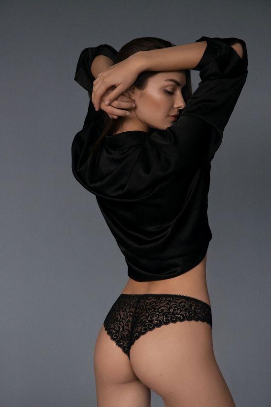 Бразиліани DEBBY - Jasmine Lingerie, колір: чорний