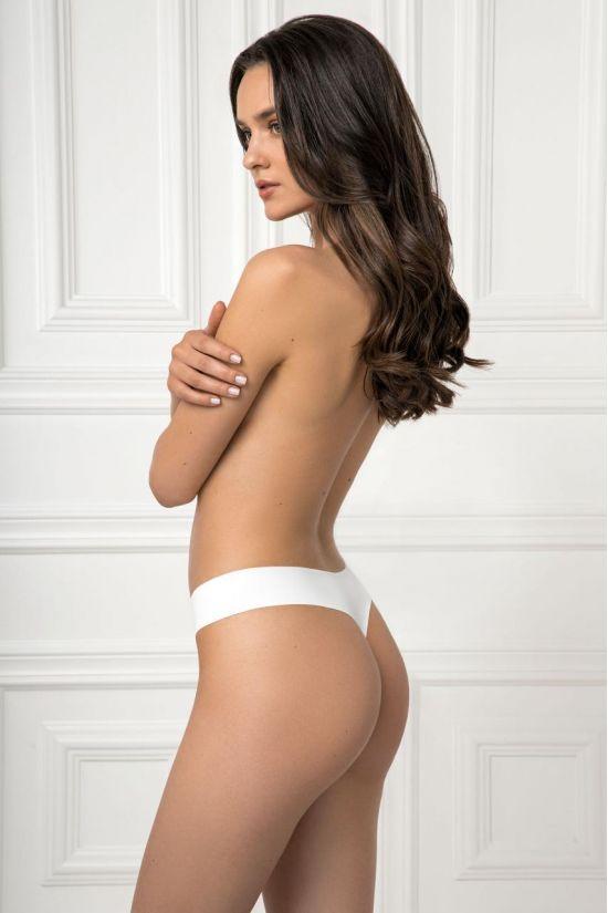Трусики стринг NELLY - Jasmine Lingerie, цвет: белый