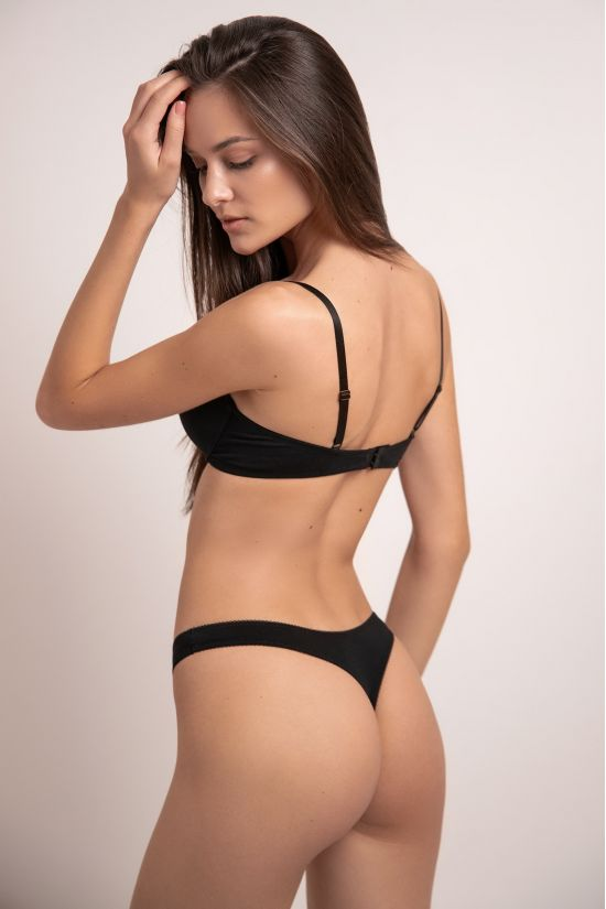 Комплект LORY - Jasmine Lingerie, колір: чорний