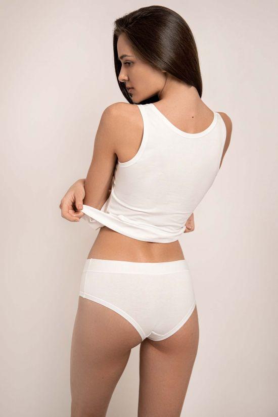 Трусики - шорты Elian - Jasmine Lingerie, цвет: белый