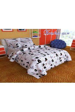 Постельное белье ранфорс подростковый Кошкин дом - Таг текстиль