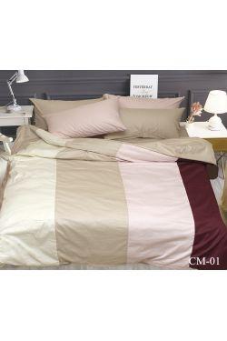 CM-01 Постельное белье сатин color mix - Таг текстиль