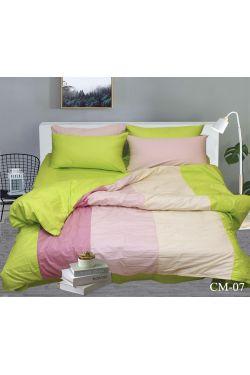 CM-07 Постельное белье сатин color mix - Таг текстиль