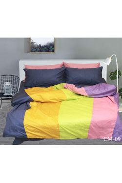CM-09 Постельное белье сатин color mix - Таг текстиль