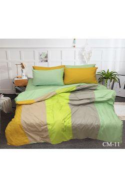 CM-11 Постельное белье сатин color mix - Таг текстиль
