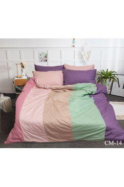 CM-14 Постельное белье сатин color mix - Таг текстиль