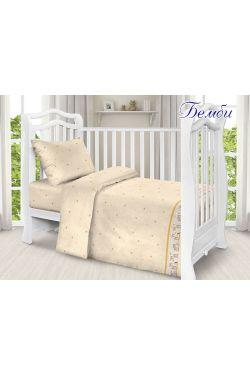 Комплект постельного белья детский в кроватку поплин Бемби - Таг текстиль