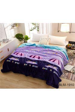 Плед велсофт (мікрофібра)  ALM1910 - Таг текстиль