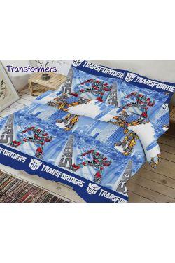 Постельное белье ранфорс подростковый Transformers - Таг текстиль