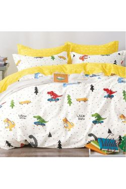 412 Комплект постельного белья детский Сатин - Вилюта