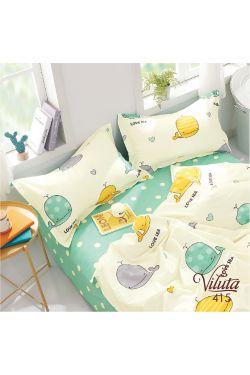 415 Комплект постельного белья детский Сатин - Вилюта
