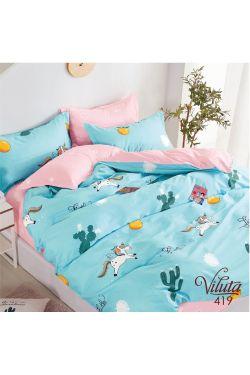 419 Комплект постельного белья детский Сатин - Вилюта