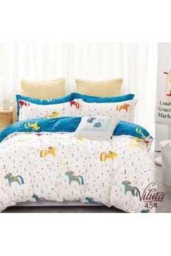 454 Комплект постельного белья детский Сатин - Вилюта