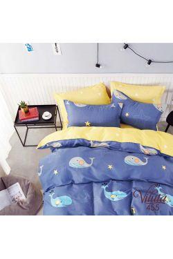 455 Комплект постельного белья детский Сатин - Вилюта