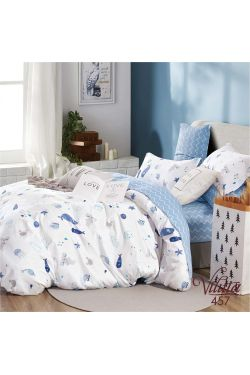 457 Комплект постельного белья детский Сатин - Вилюта