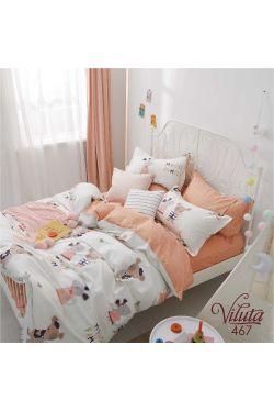 467 Комплект постельного белья детский Сатин - Вилюта