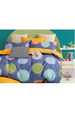 538 Комплект постельного белья подростковый сатин - Вилюта