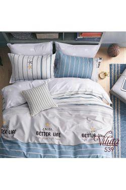 539 Комплект постельного белья подростковый сатин - Вилюта