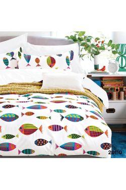 20110 Комплект постельного белья подростковый ранфорс - Вилюта