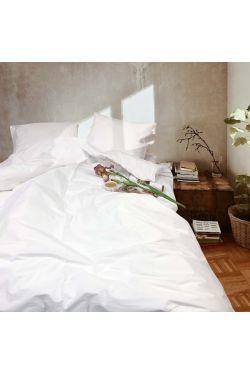 Белый Постельное белье ранфорс - Вилюта