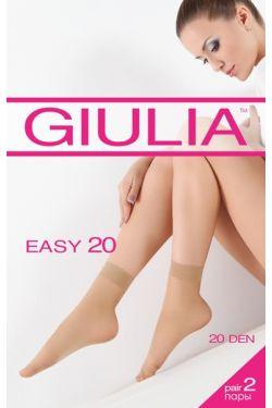 EASY 20 капронові шкарпетки, 2 пари - Giulia