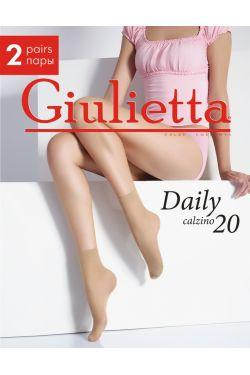 DAILY 20 капронові шкарпетки, 2 пари - Giulietta
