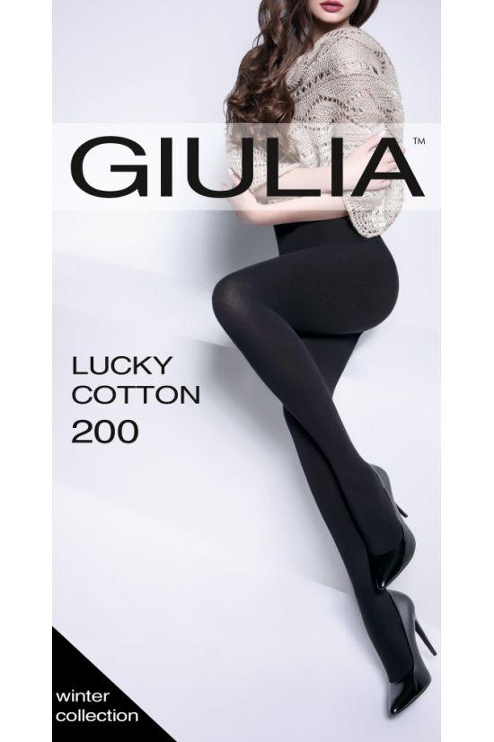 LUCKY COTTON 200 Колготки - Giulia