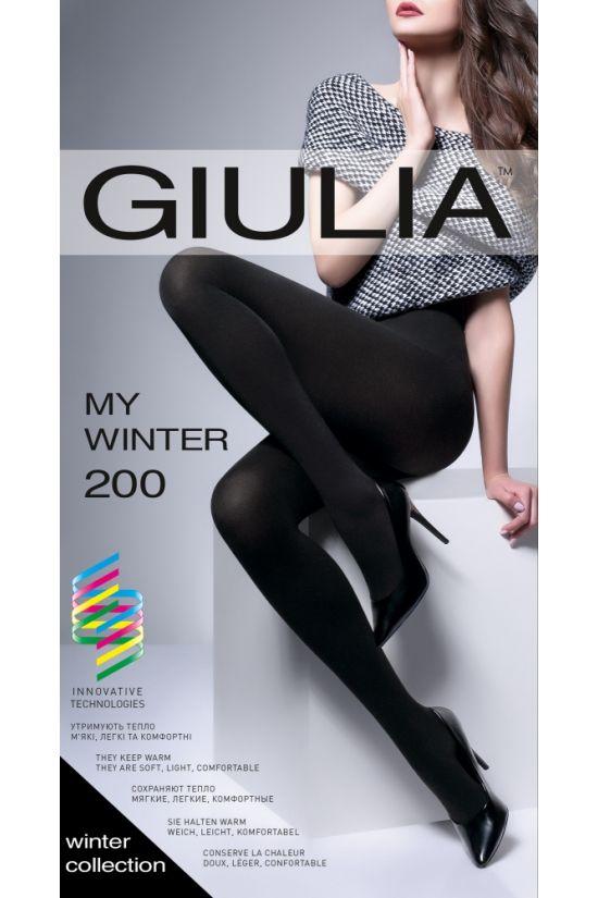 MY WINTER 200 Колготки - Giulia