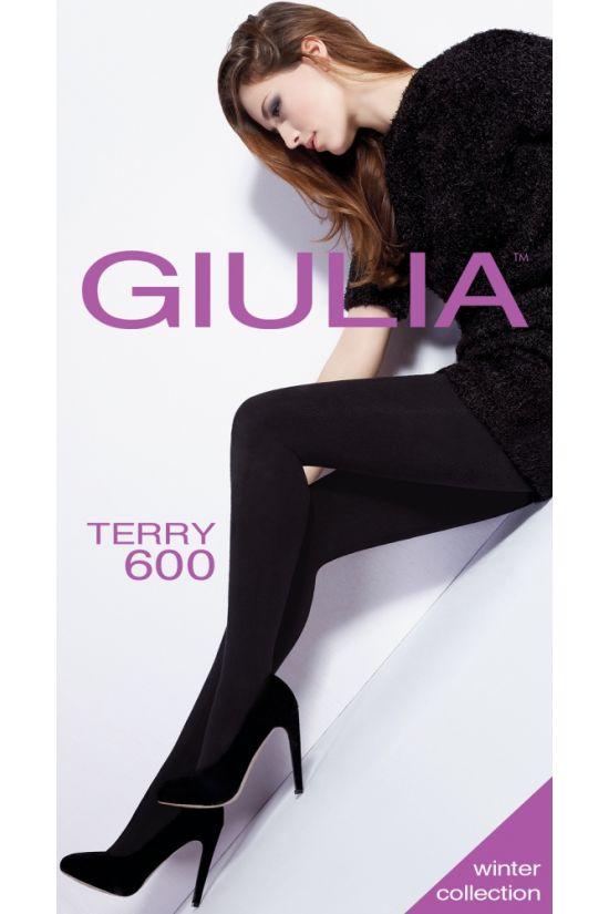 TERRY 600 Колготки (махра) - Giulia