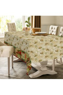 Новогодний винтаж Скатерть - Комфорт-текстиль