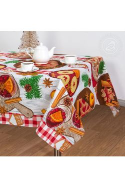 Пряничный домик Скатерть - Комфорт-текстиль