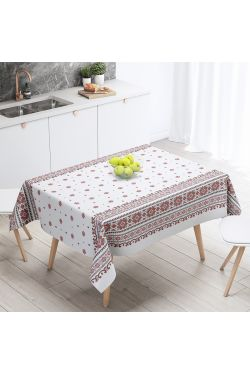 Снежинка белая Скатерть - Комфорт-текстиль